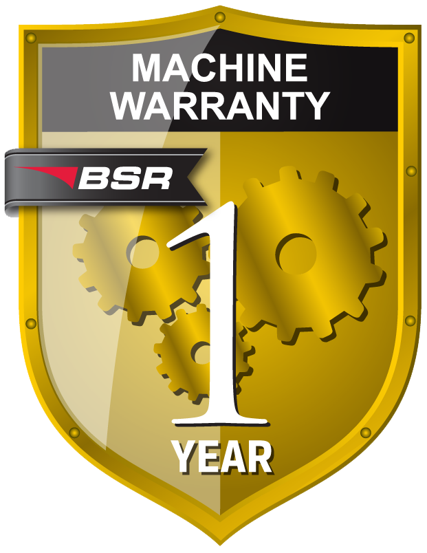 Machine warranty